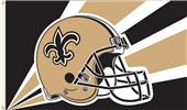 NFL New Orleans Saints 3' x 5' Flag w/Grommets