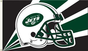 NFL New York Jets 3' x 5' Flag w/Grommets
