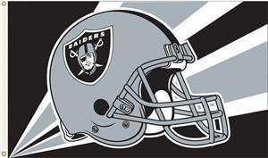 NFL Oakland Raiders 3' x 5' Flag w/Grommets