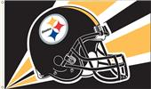 NFL Pittsburgh Steelers 3' x 5' Flag w/Grommets