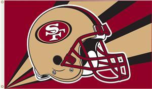 NFL San Francisco 49ers 3' x 5' Flag w/Grommets