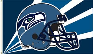NFL Seattle Seahawks 3' x 5' Flag w/Grommets