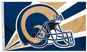 NFL Los Angeles Rams 3' x 5' Flag w/Grommets