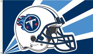 NFL Tennessee Titans 3' x 5' Flag w/Grommets