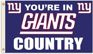 NFL You're in Giants Country 3' x 5' Flag
