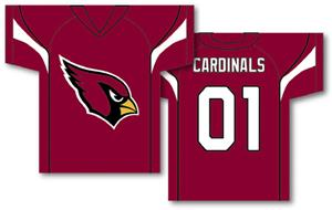 NFL Arizona Cardinals 2-Sided Jersey Banner