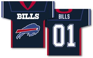 NFL Buffalo Bills 2-Sided Jersey Banner
