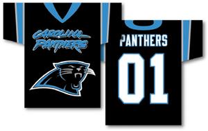 NFL Carolina Panthers 2-Sided Jersey Banner