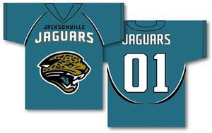 NFL Jacksonville Jaguars 2-Sided Jersey Banner