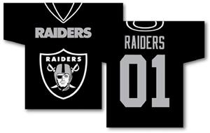 NFL Oakland Raiders 2-Sided Jersey Banner
