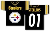 NFL Pittsburgh Steelers 2-Sided Jersey Banner