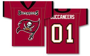 NFL Tampa Bay Buccaneers 2-Sided Jersey Banner