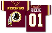 NFL Washington Redskins 2-Sided Jersey Banner
