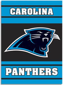 "NFL Carolina Panthers 28"" x 40"" House Banner"
