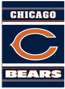 "NFL Chicago Bears 28"" x 40"" House Banner"