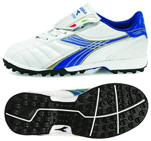 Diadora Forza TF JR Soccer Shoes - White