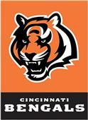 """NFL Cincinnati Bengals 28"""" x 40"""" House Banner"""