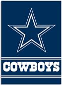 "NFL Dallas Cowboys 28"" x 40"" House Banner"