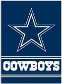 "NFL Dallas Cowboys 28"" x 40"" House Banner"