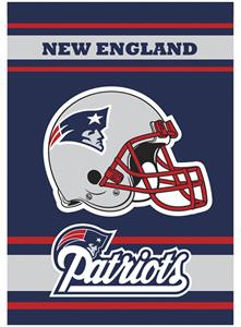 NFL New England Patriots 28&quot; x 40&quot; House Banner