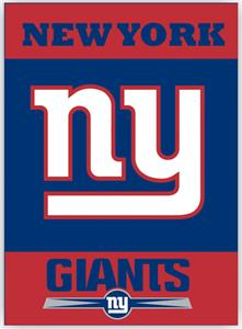 "NFL New York Giants 28"" x 40"" House Banner"