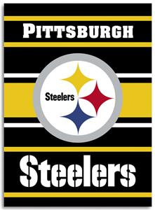 "NFL Pittsburgh Steelers 28"" x 40"" House Banner"