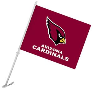 "NFL Arizona Cardinals 2-Sided 11"" x 14"" Car Flag"