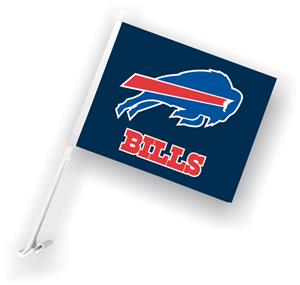 "NFL Buffalo Bills 2-Sided 11"" x 14"" Car Flag"