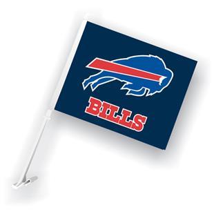 """NFL Buffalo Bills 2-Sided 11"""" x 14"""" Car Flag"""