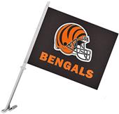 "NFL Cincinnati Bengals 2-Sided 11"" x 14"" Car Flag"