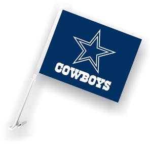 "NFL Dallas Cowboys 2-Sided 11"" x 14"" Car Flag"