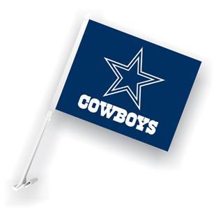 """NFL Dallas Cowboys 2-Sided 11"""" x 14"""" Car Flag"""