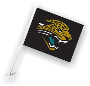 "NFL Jacksonville Jaguars 2-Sided 11""x14"" Car Flag"