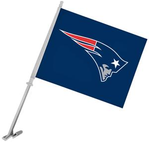 "NFL New England Patriots 2-Sided 11""x14"" Car Flag"