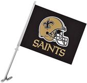 "NFL New Orleans Saints 2-Sided 11"" x 14"" Car Flag"