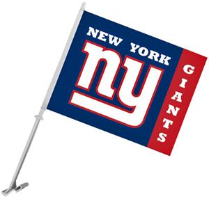 "NFL New York Giants 2-Sided 11"" x 14"" Car Flag"