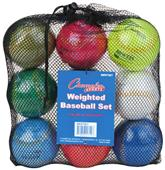 Champion Weighted Training Baseballs (Set of 9)