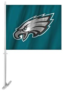 "NFL Philadelphia Eagles 2-Sided 11"" x 14"" Car Flag"