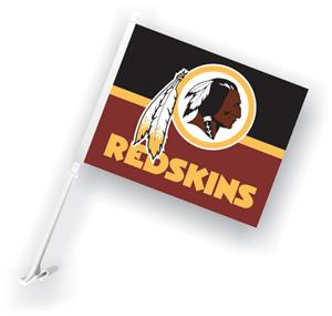 "NFL Washington Redskins 2-Sided 11"" x 14"" Car Flag"