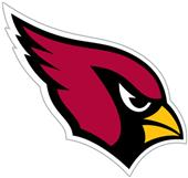 NFL Arizona Cardinals Auto Diecut Window Film