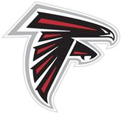 NFL Atlanta Falcons Auto Diecut Window Film