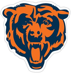 NFL Chicago Bears Auto Diecut Window Film