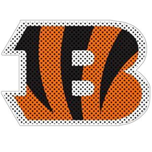 BSI NFL Cincinnati Bengals Auto Diecut Window Film