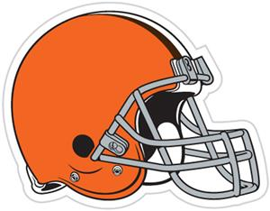 NFL Cleveland Browns Auto Diecut Window Film