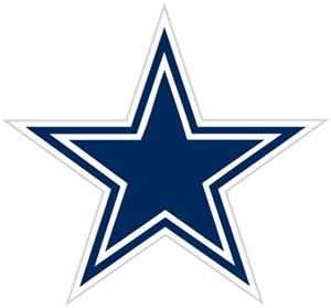 NFL Dallas Cowboys Auto Diecut Window Film