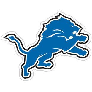 NFL Detroit Lions Auto Diecut Window Film