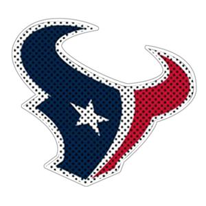 NFL Houston Texans Auto Diecut Window Film