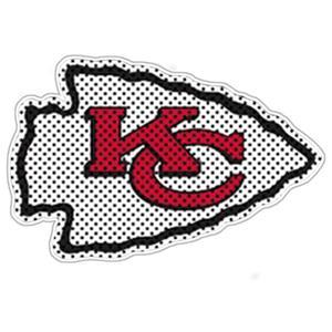 BSI NFL Kansas City Chiefs Auto Diecut Window Film