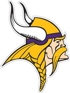 NFL Minnesota Vikings Auto Diecut Window Film