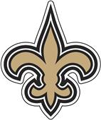 NFL New Orleans Saints Auto Diecut Window Film